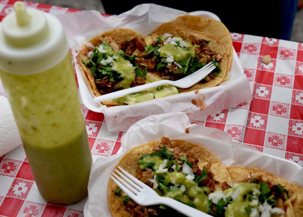 Tacos y Tamales